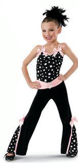 NWT Dance Skate Costume Dress Lyrical Tap Jazz Twirl Baton 4437 Leo