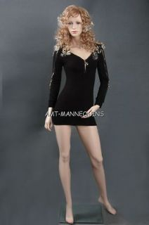 mannequin realistic looking full body dress form full manikin   Gina