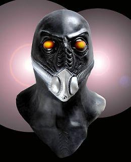 COSTUME MASK   UFO BIO HAZARD RESIDENT EVIL GAS MASK ALIEN APOCALYPSE