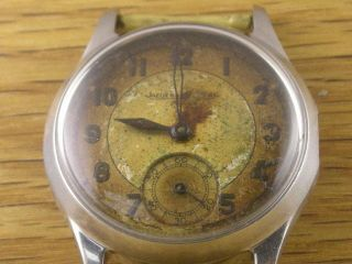 Vintage Jaeger LeCoultre sub seconds ***AS IS** project watch