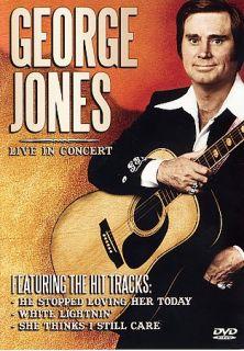 George Jones   Live in Concert DVD, 2004