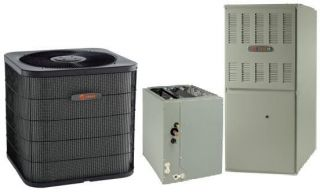 TRANE COMPLETE SPLIT SYSTEM FURNACE COIL CONDENSER R410A AC & HEATER