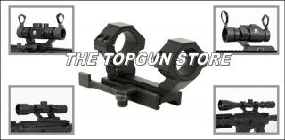 QR Weaver Cantilever Scope Mount Adjustable/detachable Rear Ring for