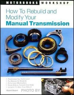 Rebuild Modify 1989 2001 Honda Civic Manual Transmission Book Del Sol