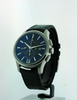NEW ZENITH EL PRIMERO CAPTAIN WINSOR CHRONO BLUE WATCH 03.2070.4054