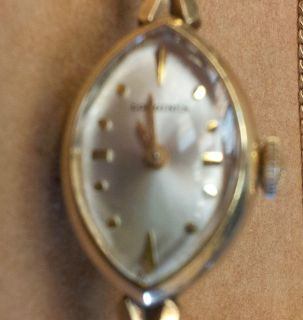 Vintage Ladies/Womens Wittnauer Longines Watch 10K Gold Filled