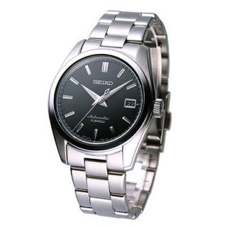 Newly listed SEIKO Mechanical Automatic Watch Black SARB033J Made in