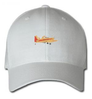 CROP DUSTER AIRCRAFT SPORTS SPORT EMBROIDERED EMBROIDERY HAT CAP .