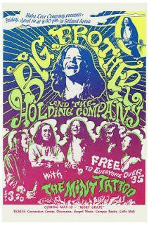 Classic Rock Janis Joplin & Big Brother at Selland Arena Poster