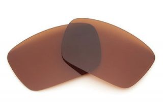Bronze Brown Replacement Lenses For Oakley Fuel Cell Sunglasses