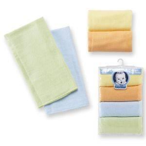 NIP Cotton Gerber 4 Pack Diaper Burp Cloth Neutral