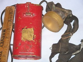 BRASS USFS FORESTRY SERVICE ? COAL MINERS HEAD LAMP LIGHT GOLD MINE