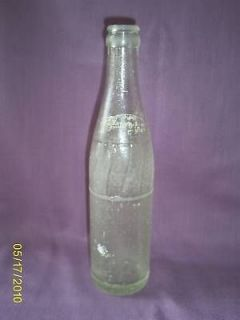 Vintage Pepsi Cola Glass Bottle Anchor Hocking 10 Oz.