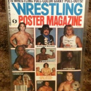 Scene Poster Magazine #3 HULK HOGAN 1984 10 16x20 COLOR POSTERS