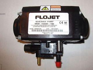 Flojet T5000 192 bib beverage pumps CO2 operated COKE PEPSI TEA SODA