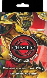 OF THE LOST CITY Chaotic Trading Card Game STARTER DECK   Sealed