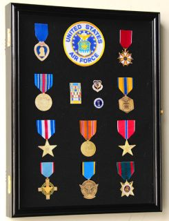 Lapel Pin Medal Buttons Patches Ribbon Display Case