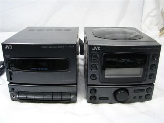 jvc compact system in Compact & Shelf Stereos