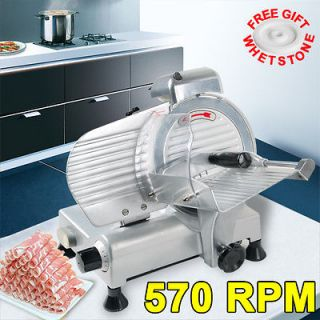 Commercial 8 Blade Electric Meat Slicer 210w 570RPM Deli Food Cheese