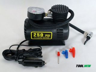 Mini Air Compressor Portable Electric 12V Pump Car Tire Boat Inflator
