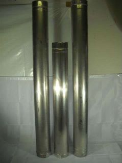 Vent 1  38 inch 2 51 Stainless Steel Flue Vent Water Heater Furnace