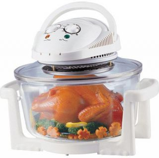 Halogen Infrared Turbo Convection Countertop Oven Deluxe Package On