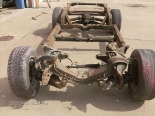 1975 1976 1977 1978 1979 Corvette Frame Manual 4 speed Rolling Chassis
