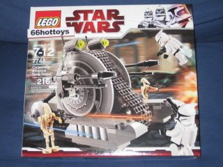 LEGO Star Wars Corporate Alliance Tank Droid 7748