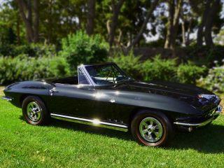 Chevrolet : Corvette L 79 4 spd. 65 Vette. Glen Green / Dark Green, L