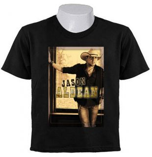JASON ALDEAN COUNTRY MUSIC TOUR 2012 2013 T SHIRTS JA6