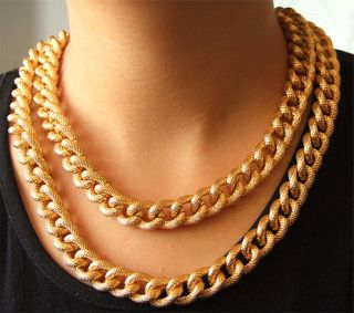 gold plated necklace in Fashion Jewelry