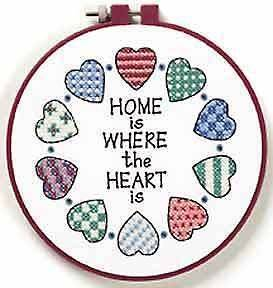 cross stitch kits home in Buildings & Villages