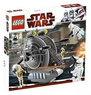 Lego CORPORATE ALLIANCE DROID TANK 7748 Set w/ box Clone Jet Trooper