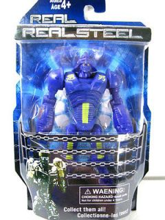 New Real Steel figures Twin Cities Midas Zeus( Noisy Boy ) Atom Free