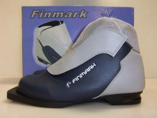 new finmark nib boot 3 pin 75mm cross country ski