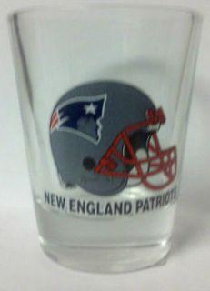 New England Patriots Helmet NFL Shot Glass New