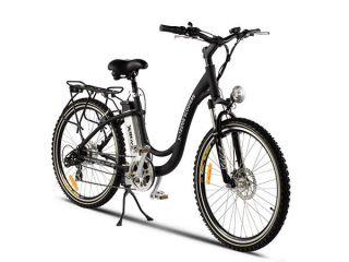 Treme Scooters   XB 305 Li   ELECTRIC Cruiser Bike   Black Bicycle
