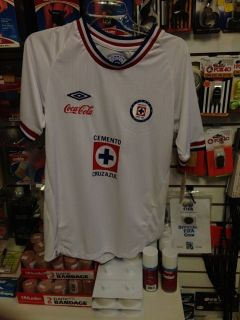 AUTHENTIC UMBRO 10 11 AWAY CRUZ AZUL JERSEY SHIRT FUTBOL SOCCER
