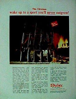 1967 Daisy BB Pump Gun Air Rifle Christmas~Holiday Sports Kids Toy AD