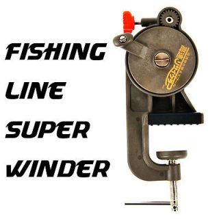 Line winder super spooler with line counter for Fishing line counter for spooling