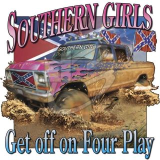 Dixie Rebel SOUTHERN GIRLS GET OFF ON FOUR PLAY