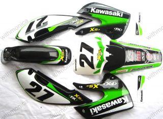 New Kawasaki DECALS STICKERS Graphics KAWASAKI KLX 110 65 STYLE Pit