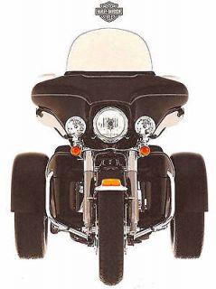 2009 HARLEY DAVIDSON FLHTCUTG TRI GLIDE ULTRA CLASSIC TRIKE MOTORCYCLE