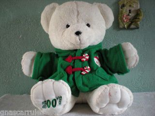 2007 DAN DEE COLLECTORS CHOICE HOLIDAY TEDDY BEAR PLUSH DOLL