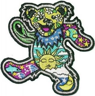 Dan Morris Grateful Dead Dancing Bear Patch Approx 3.5