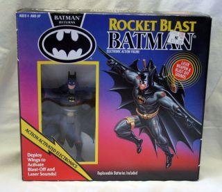 Rocket Blast Batman Electronic figure Batman Returns Kenner 1991 MIMB