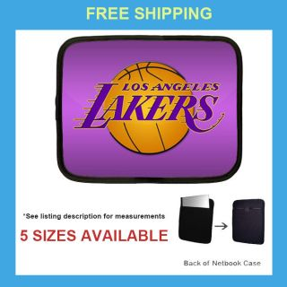 NBA Basketball Los Angeles Lakers Laptop Netbook Case / Sleeve / Pouch