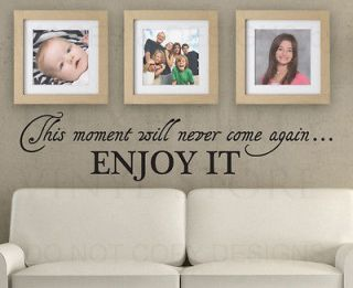 Wall Decal Art Sticker Quote Vinyl Lettering Decorative Live Simply