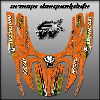 NEW ARCTIC CAT, ZR, ZRT, fits 02 05 snowmobile graphics   orange