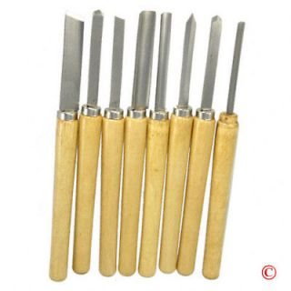 Wood Lathe Chisel Tool Set Woodworking Turning Tools